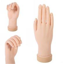 Nail Tools Nail Exercises Fake Hand Nail Art Acrylic Gel Tips Design Practice  Model Tool