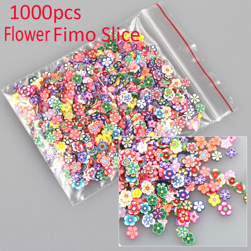 1000pcs/pack 3D Fruit Nail Art Decoration - free shipping worldwide