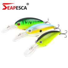 SEAPESCA Sizzling Promoting Crank Bait Fishing Lures 100mm 14g Wobblers Bass Onerous Bait Pike Pesca Sort out Triple Hooks Swimbait YA195