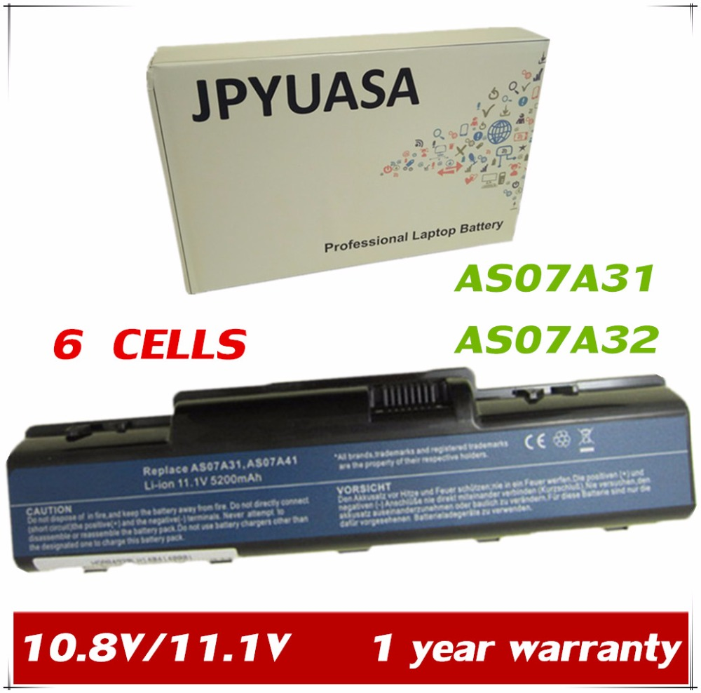 4400mah Laptop Battery For Acer Aspire 5732 4732z 5516 5517 As09a31 Baterai 4732 5732z Series Jpyuasa 108v As07a31 As07a32 As07a41 As07a42 As07a51 5535 5536