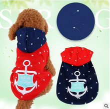 Fashion Various Colors Pet Dog Clothes Sweatshirt Hoodie Winter Warm Dogs Naval Knitted Sweater Hoodie Cute Coat Puppy XXS S,M,L
