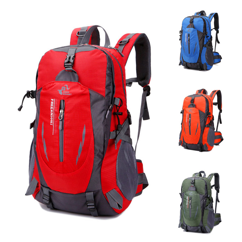 Free Knight 40L Sport Bags Camping Hiking Backpack For Men Women Teenagers Travel Backpack Tourist Bicycle Cycling Bag 8 Colors