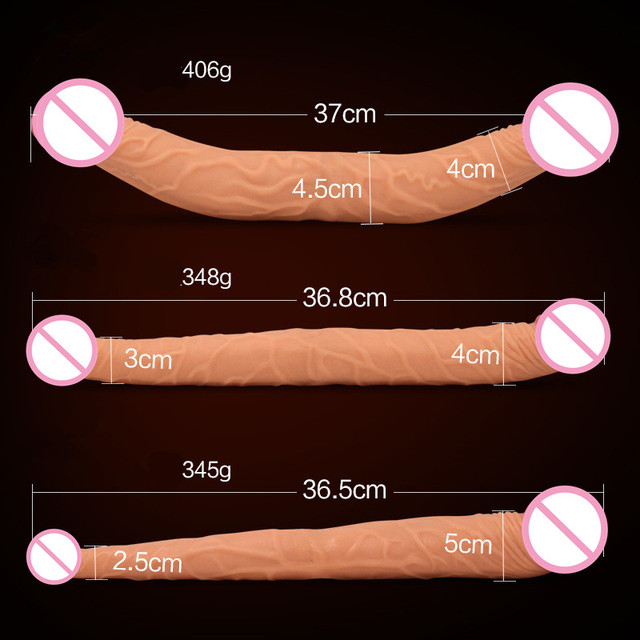 Realistic Large Wide Huge Big Double Dildo Sex Toys Big cock