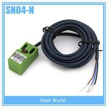3PCS DC NPN NO 4mm Detection distance proximity detector sensor SN04-N 3D0206
