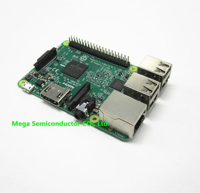 2016 Nova Element14 original Placa Raspberry Pi 3 Modelo B 1 GB LPDDR2 BCM2837 Quad-Core Ras PI3 B, 3B PI, PI 3 B com WiFi & Bluetooth