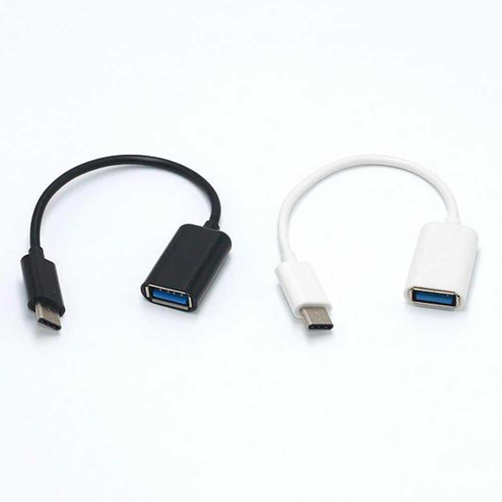 2 Warna 3.1 Tipe-C OTG Adaptor Kabel Tipe C USB-C OTG Konverter untuk Xiaomi Mi5 Mi6 Huawei Samsung mouse Keyboard USB Flash Disk