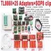 V7 11 XGecu TL866II Plus Programmer 25 Adapters Socket SOP8 Clip 1 8V Nand Flash