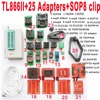 V7 11 XGecu TL866II Plus Programmer 25 Adapters Socket SOP8 Clip 1 8V Nand Flash