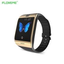 FLOVEME Bluetooth Smart Watch Android Phone Support de Carte SIM Smartwatch Sport Montre Portable Montre-Bracelet Mémoire Carte Smart Wacht
