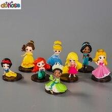 Принцесса торт Топпер Белоснежка Алиса Русалка рисунок торт украшение маленькая принцесса девочки топперы для торта на день рождения вечерние принадлежности