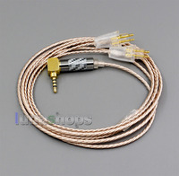Hi Res Silver Plated XLR 3.5mm 2.5mm 4.4mm Earphone Cable For FOSTEX TH900/909/600/X00/610 MKII MK2 LN006366