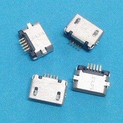 Micro usb 5 pin no curling smd female socket android phone charging socket.jpg 250x250