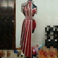 Настроить Сексуальная Dj этап певица одежда Для женщин клуб Полюс Танцы Костюмы Высокая Талия джаз костюм Одежда для сцены Косплэй DJ104