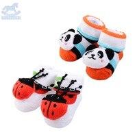 Baby Jongen Baby Meisje Nieuwe Stijl Mooie Baby 3D Sokken Gift Set BW-6115-2135k & BW-6115-2136k, verkocht Door JD China Officiële Winkel