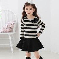 Boże narodzenie Ubrania Dla Dzieci Dziewczyny Sukienka Z Długim Rękawem Sukienka Elsa Dziewczyna Zima Sukienka łuk Dzieci Ubierać Ubrania Dla Dzieci HB1215 Navidad