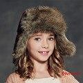 Kenmont Зима Unisex Дети Дети Мальчики Девочки Открытый Теплый Лыжный Hat России Ловец Бомбардировщик Cap 2334