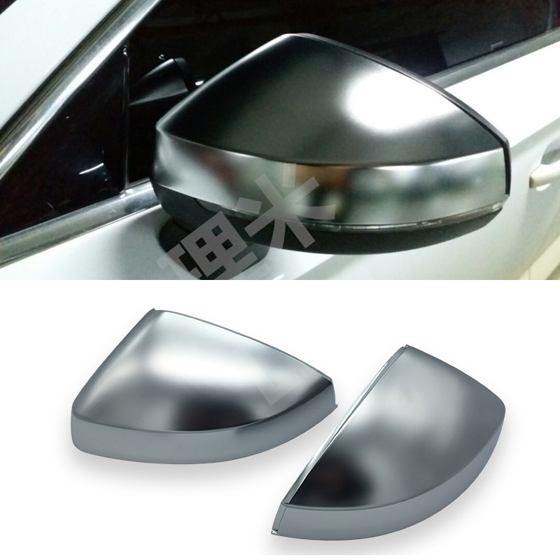 For Audi A3 S3 8V S Style 2014 2015 2016 2017 Matt Chromed Side Door Mirror Wing Mirror Cover Replacement Car Accessories