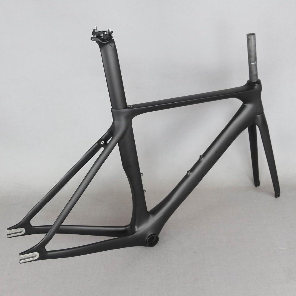 ベストセラー固定ギア安価な中国カーボンファイバー自転車フレーム FM269  グループ上の スポーツ & エンターテイメント からの 自転車のフレーム の中 2