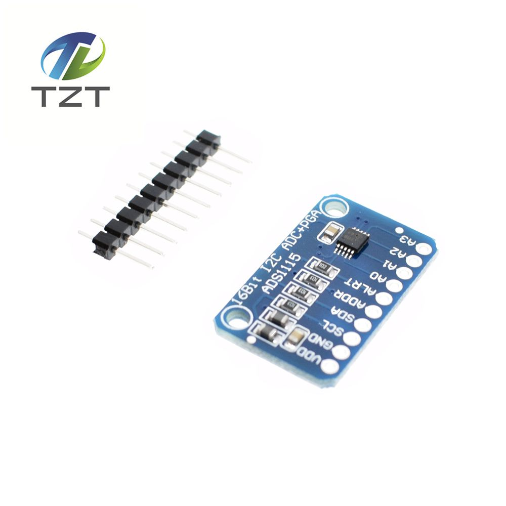 1pcs 16 Bit I2C ADS1115 Module ADC 4 channel with Pro Gain Amplifier for Arduino RPi