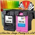 2PK 302 XL Картридж для HP 302XL 302 Черный трехцветный картридж Повышенной емкости для HP DeskJet 2130 для HP Envy 4520 NS45
