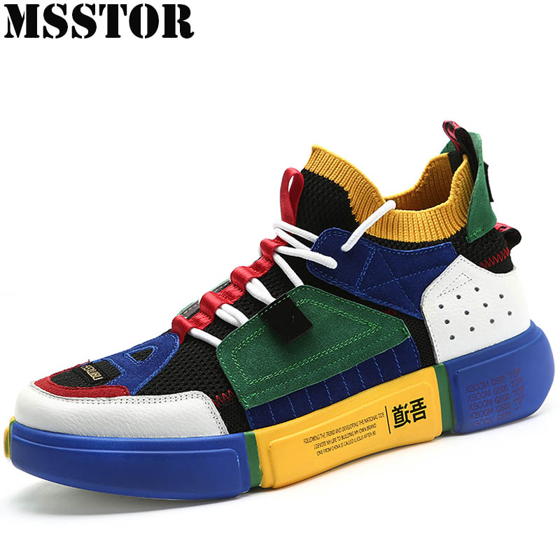 MSSTOR Men's Running Shoes Man Brand Summer Breathable Mesh Women Sport Shoes Lovers Outdoor Athletic Sports Run Womens Sneakers msstor 2018 men running shoes brand summer breathable mesh sports run outdoor athletic sport shoes for male jogging man sneakers