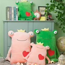 Creative Love Heart Frog Plush Toys Stuffed Animal Doll Toy Soft Plush Pillow Children Gifts Girls Birthday Gift стоимость