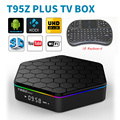 T95Z Plus Android 6.0 Box Amlogic S912 Octa Core 4K x 2K H.265 Decoding 2.4G + 5G Dual Band WiFi Media Player T95ZPlus PK X96