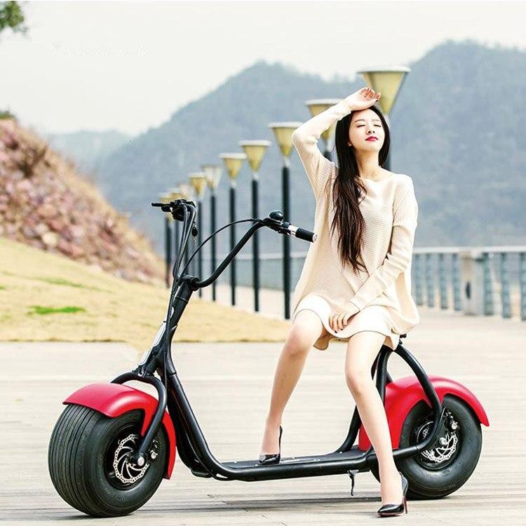 Free tax fat <font><b>tire</b></font> free <font><b>pump</b></font> cityboard harley citycoco scooter hoverboard skateboard moped 1000W