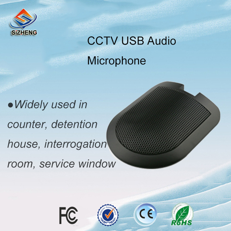 SIZHENG COTT-C3 USB interfaccia 3.5mm CCTV audio microfono a basso rumore sound monitor per il sistema cctvSIZHENG COTT-C3 USB interfaccia 3.5mm CCTV audio microfono a basso rumore sound monitor per il sistema cctv