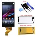 De color negro para sony xperia z1 mini compact z1c m51w d5503 pantalla lcd táctil digitalizador asamblea + herramientas + adhesivas envío gratis