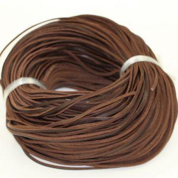 100 m/unid (3mm de ancho y 2mm de espesor) pulseras cuerda de ajuste de collar cuerda de cuero vacuno genuino