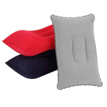 Сложенный стекаются двухсторонний подушке воздушной путешествий самолет подушку надувные подушки подушка