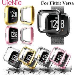 360 градусов циферблат для Fitbit Versa Смарт часы циферблат покрытие щит для Fitbit Versa часы аксессуары, защита экрана
