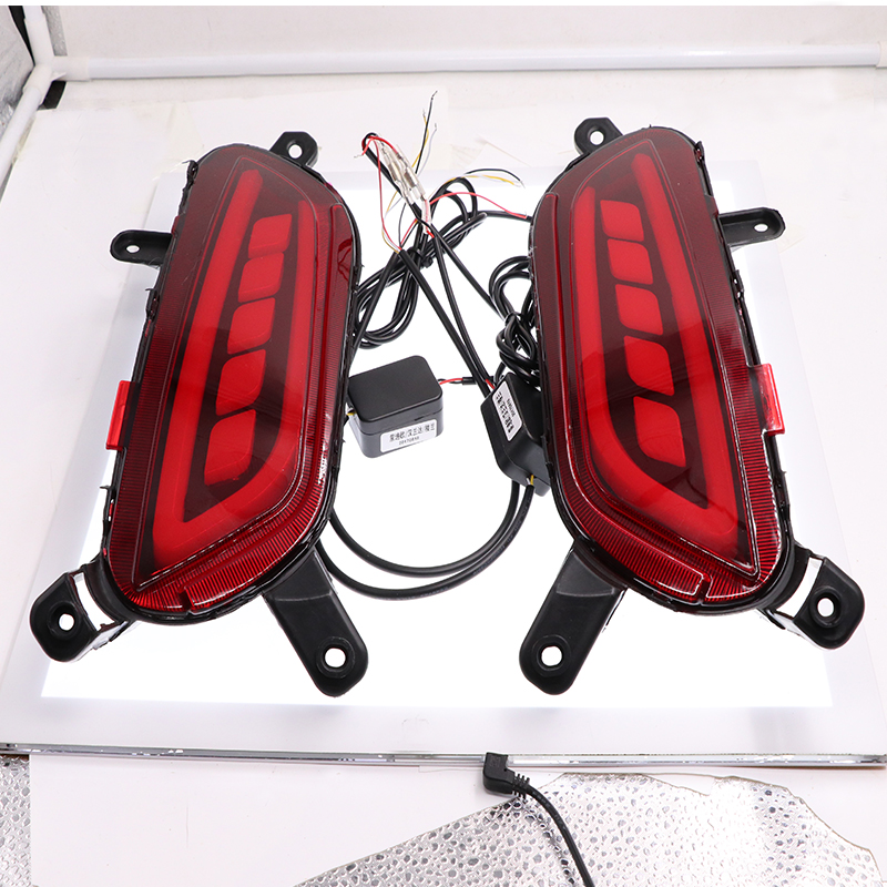 DRL Rear Bumper Tail Light For Mazda CX 3 CX3 CX 3 2016 2017 LED Rear