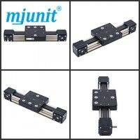 Mjunit MJ80 линейной стадии привод ЧПУ детали для фрезерного станка X линейной направляющей с 1000 мм длина хода