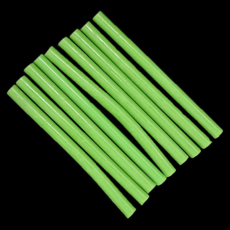 7MM Hot Melt Glue Sticks  For  Electric Glue Gun Car Audio Craft Repair Sticks Adhesive Sealing Wax Stick Green Color