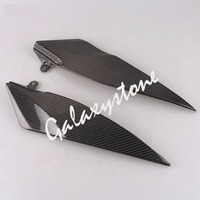 Carbon Fiber Tank Side Covers Panel Fairing for Yamaha YZF R1 2007 2008 07 08 Motorcycle Side Lining