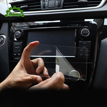 Car GPS Navigation Screen Tempered Glass Protector Steel Portective Film For Nissan Qashqai J11 X trail