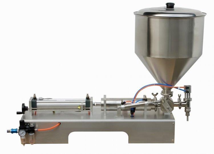 100-1000ml Single Head Cream Pneumtic Filling Machine GRIND