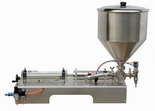 100 1000ml Single Head Cream Pneumtic Filling Machine GRIND
