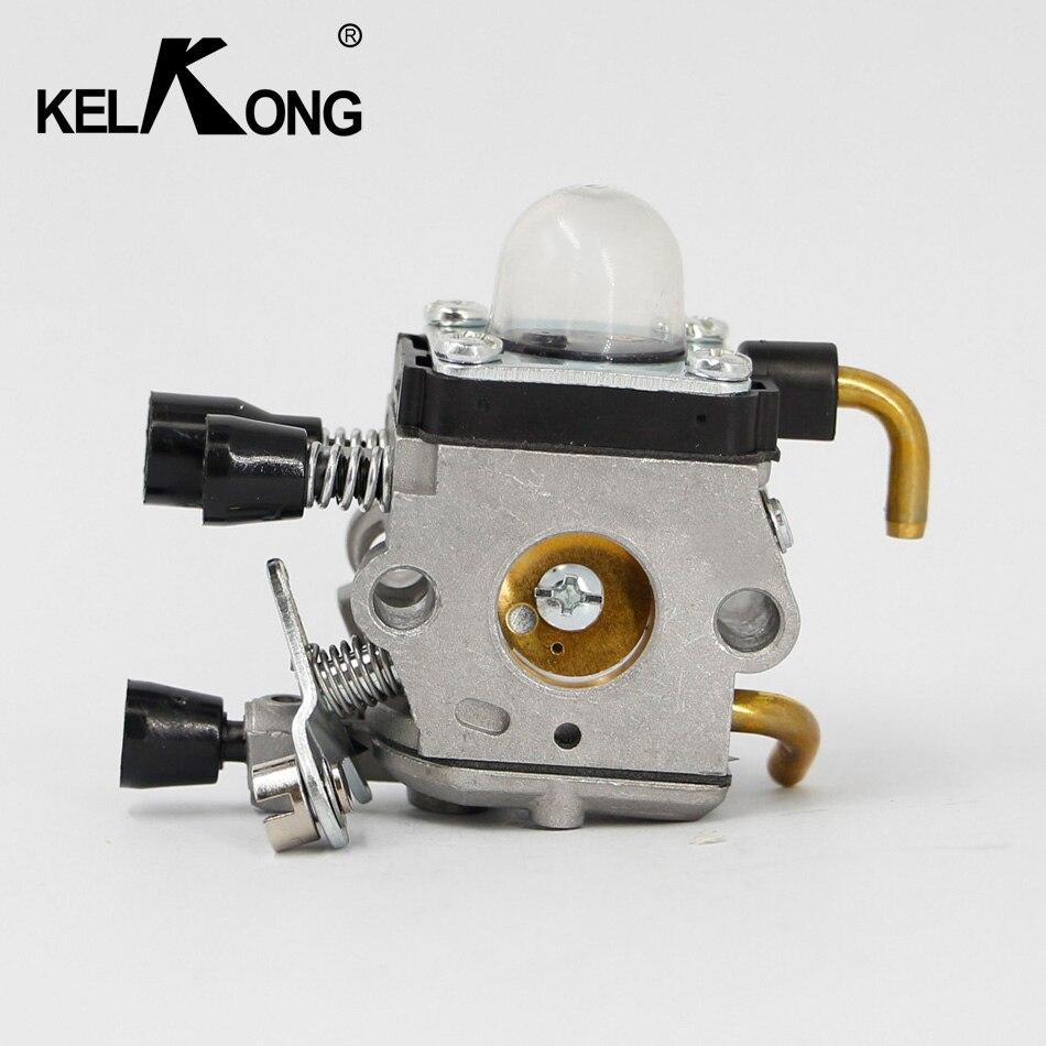 KELKONG carburateur pour STIHL FS55 FS74 FS75 FS76 FS80 FS85 KM55 KM85 FS38 FS45 FS46 CARB ESSENCE TONDEUSE 4140 120 0619