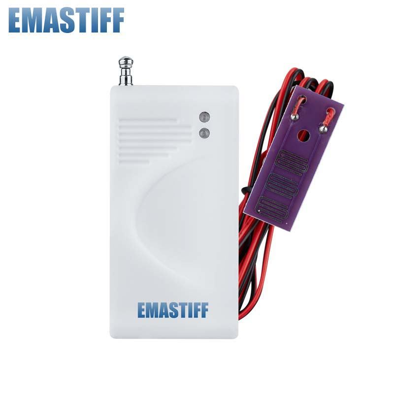 Water Leakage Alarm Detector Water Alarm Leak Sensor Detection Flood Alert Overflow For Home Security GSM Alarm System