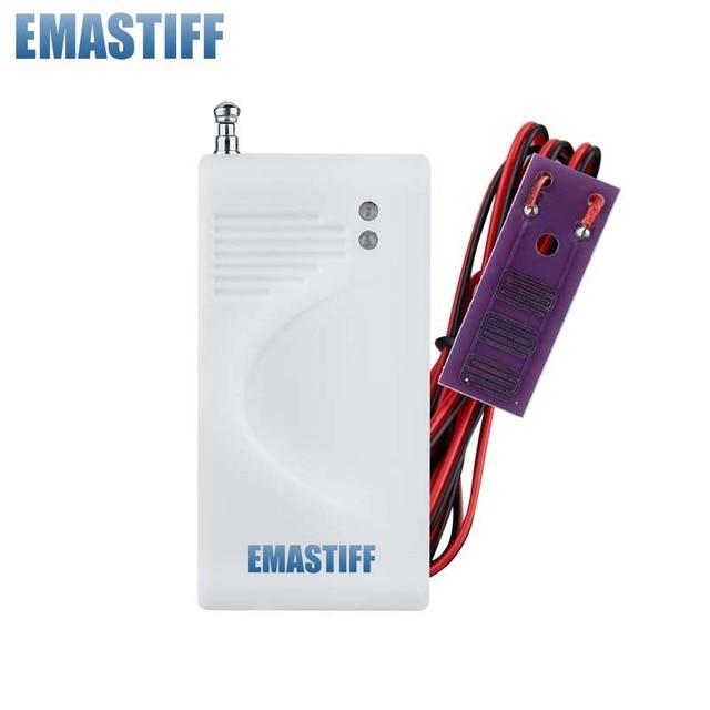 Water Leakage Alarm Detector Water Alarm Leak Sensor Detection Flood Alert Overflow For Home Security GSM Alarm System