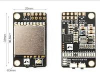 Matek 5 8G 40CH 25 200 500mW Switchable Video Transmitter VTX HV With 5V 1A BEC