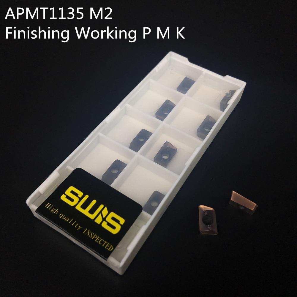10 PZ APMT1135 M2 + 1 PZ 20mm Supporto per fresa BAP300R - Macchine utensili e accessori - Fotografia 2