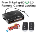 newest!!Free shipping Universal keyless entry system Remote central locking / Trunk release / Pneumatic/electronic lock 3691
