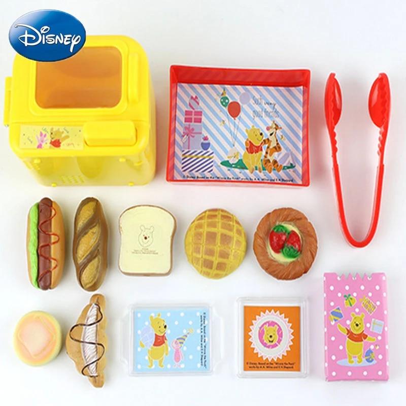 Disney Bread Oven Cut The House Cartoon Child Toy Kitchen Girl Gift Frozen Winnie The Pooh Mickey Minnie Cake Simulation Set Kitchen Toys Aliexpress