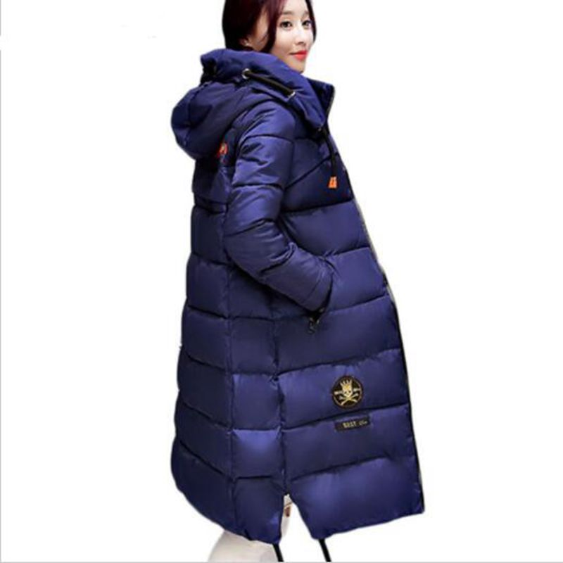 HZF Large size Winter Coat Women 2017 New Mujer Padded Jackets and Coats Slim Thick Cotton