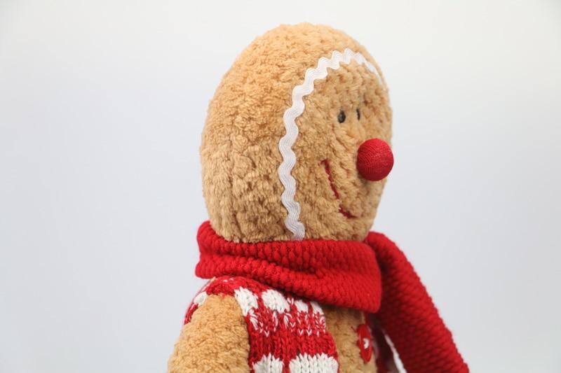 Gingerbread Man plush საშობაო საჩუქარი - პლუშები სათამაშოები - ფოტო 5