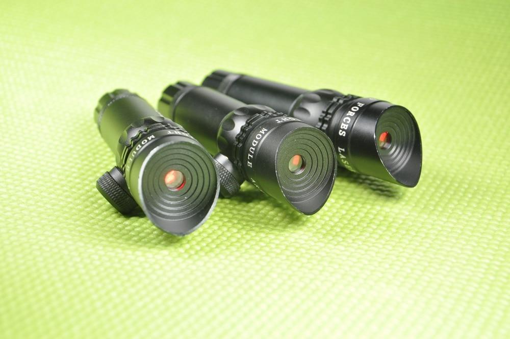Tactical Gun Red Beam Laser Sight With Rail Mount 5 mW Laser Emitter Sharp Imgage Wavelength 650nm Remote Pressure Switch Cord